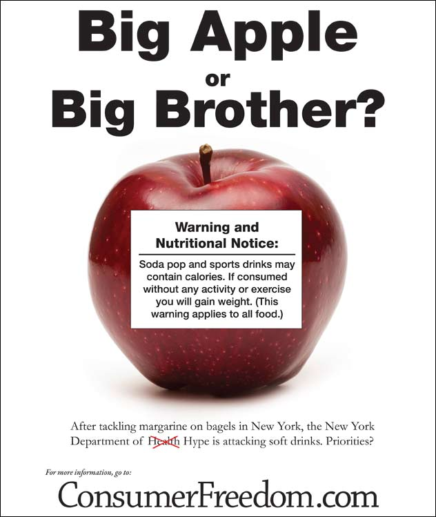 Big Apple of Big Brother