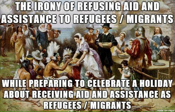 Thanksgiving Refugees