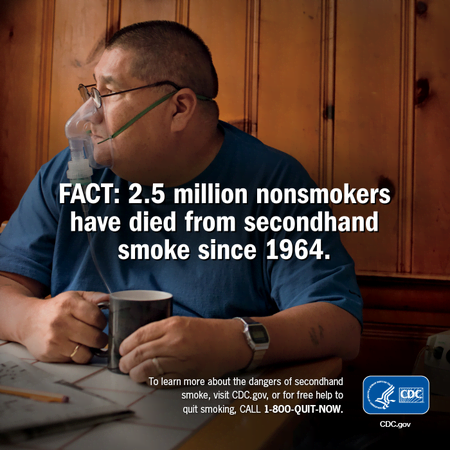 PSA warns of second-hand smoke deaths
