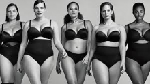 Lane Bryant ad featuring plus-sized models
