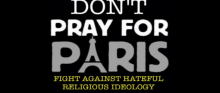 Don't Pray for Paris Graphic