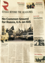 Russian Native Ad: No Common Ground on ISIS