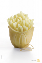 MacDonald's Potato Fries Sculpture